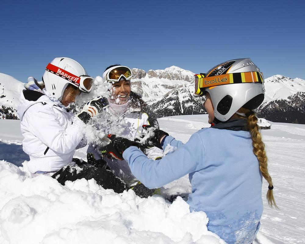 divertimento con la neve
